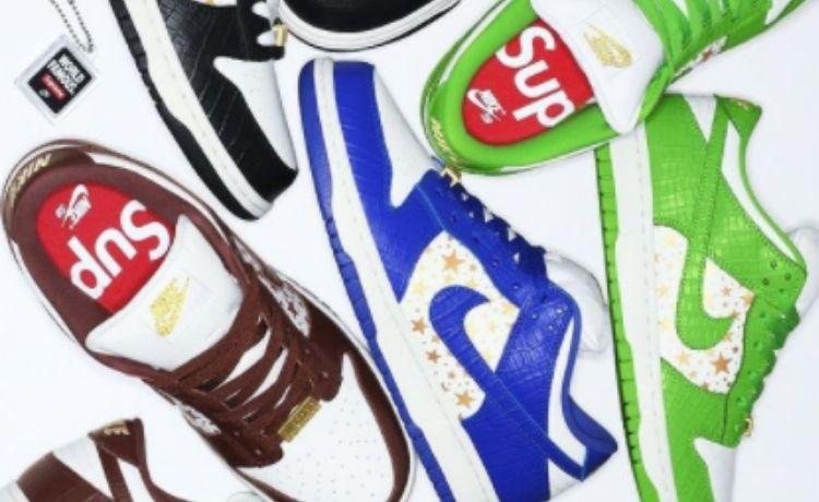 Supreme x Nike: in arrivo le nuove SB Dunk Low   4 marzo