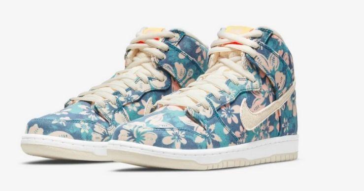 Migliori release Nike di aprile Dunk High Hawaii