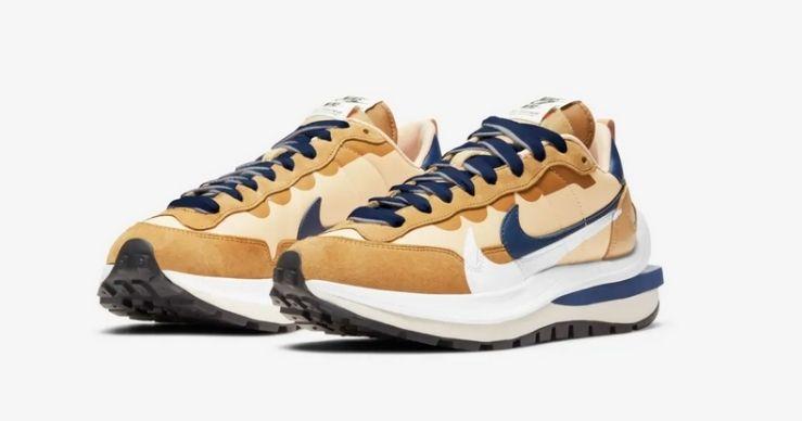 Migliori release Nike di aprile Nike x Sacai VaporWaffle Sesame and Blue