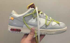 Off-White x Nike Dear Summer, Virgil Abloh presenta la sua collezione da 50 Dunk Low