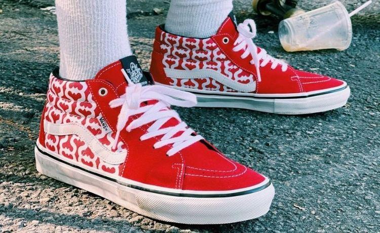 Supreme x Vans: in arrivo una nuova versione delle Skate Grosso Mid e Skate Era
