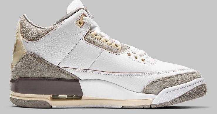 A Ma Maniere x Air Jordan 3: nuovo restock previsto per il 10 giugno 2021