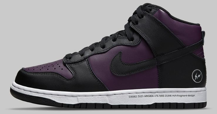 "Fragment Design x Nike: dal 5 giugno tornano le Dunk High ""Beijing"""