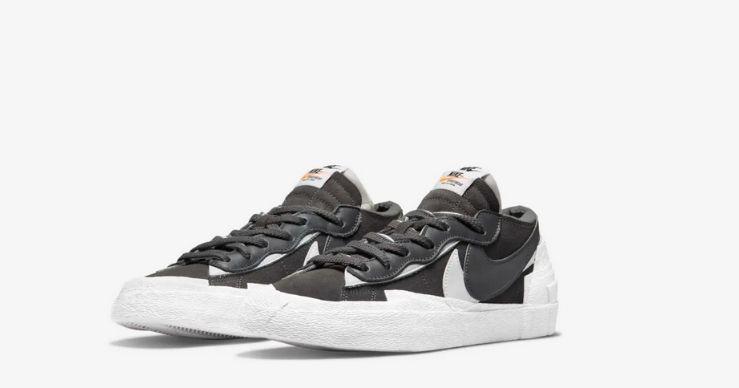 Migliori release Nike di luglio - Blazer Low x Sacai grey
