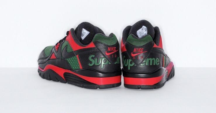 Supreme x Nike Cross Trainer Low black back