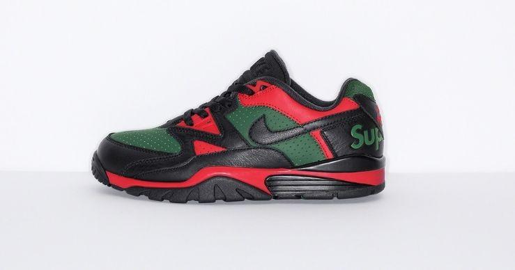 Supreme x Nike Cross Trainer Low black side
