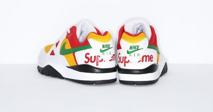 Supreme x Nike Cross Trainer Low white back